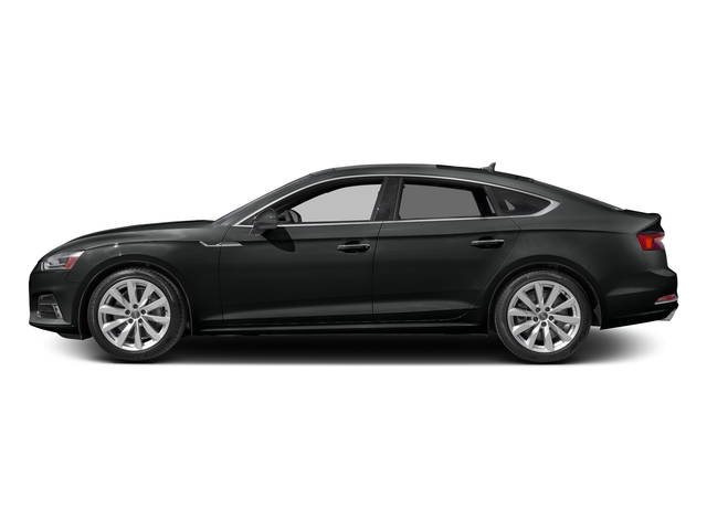 Mythos Black Metallic 2018 Audi A5 Sportback Pictures A5 Sportback 2.0 TFSI Premium Plus photos side view