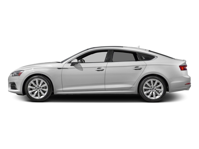 Glacier White Metallic 2018 Audi A5 Sportback Pictures A5 Sportback 2.0 TFSI Premium Plus photos side view
