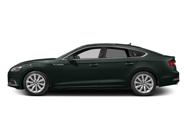 Gotland Green Metallic 2018 Audi A5 Sportback Pictures A5 Sportback 2.0 TFSI Premium Plus photos side view
