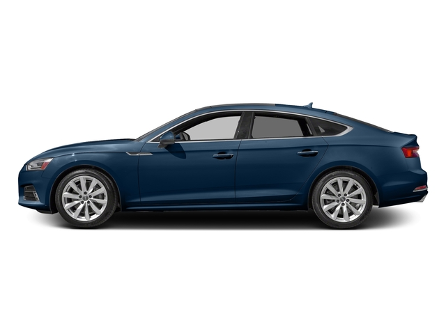 Scuba Blue Metallic 2018 Audi A5 Sportback Pictures A5 Sportback 2.0 TFSI Premium Plus photos side view