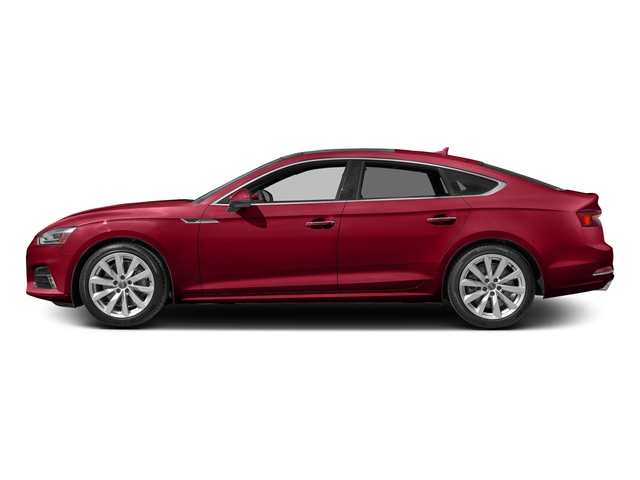 Matador Red Metallic 2018 Audi A5 Sportback Pictures A5 Sportback 2.0 TFSI Premium Plus photos side view
