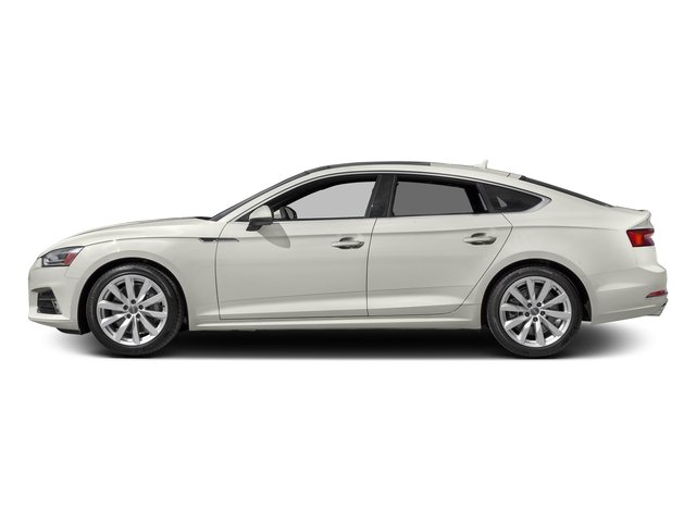 Ibis White 2018 Audi A5 Sportback Pictures A5 Sportback 2.0 TFSI Premium Plus photos side view