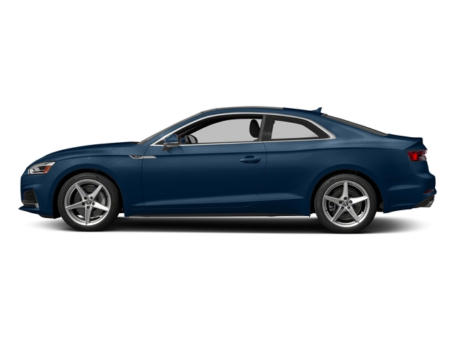 Scuba Blue Metallic 2018 Audi A5 Coupe Pictures A5 Coupe 2.0 TFSI Prestige Manual photos side view