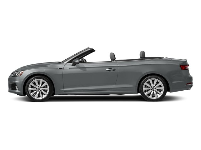 Monsoon Gray Metallic/Black Roof 2018 Audi A5 Cabriolet Pictures A5 Cabriolet 2.0 TFSI Premium photos side view