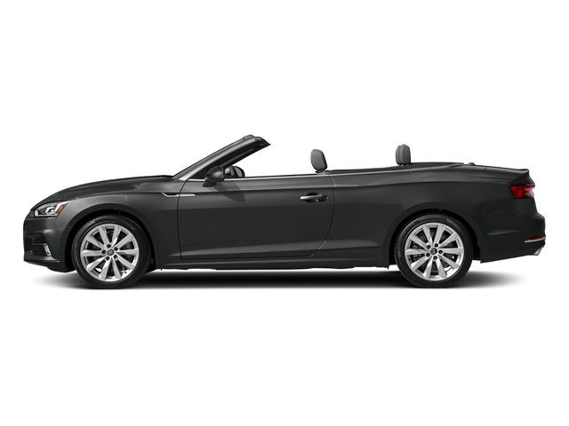 Mythos Black Metallic/Black Roof 2018 Audi A5 Cabriolet Pictures A5 Cabriolet 2.0 TFSI Premium photos side view
