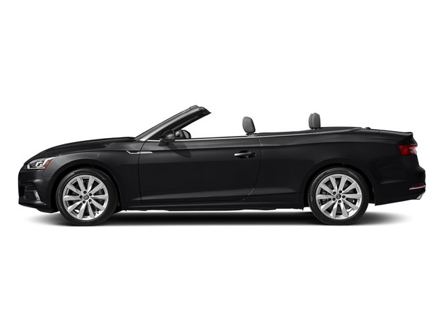Manhattan Gray Metallic/Black Roof 2018 Audi A5 Cabriolet Pictures A5 Cabriolet 2.0 TFSI Premium photos side view