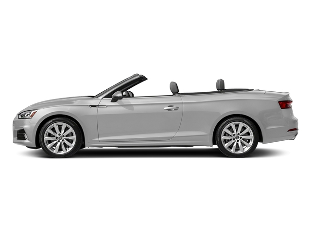 Florett Silver Metallic/Black Roof 2018 Audi A5 Cabriolet Pictures A5 Cabriolet 2.0 TFSI Premium photos side view