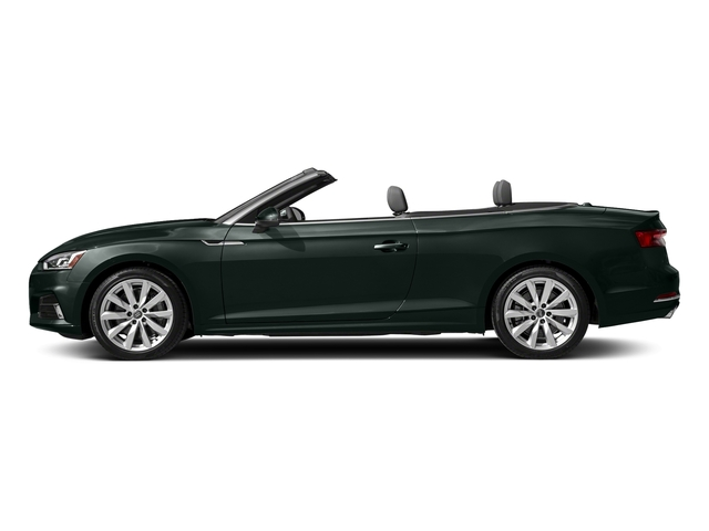 Gotland Green Metallic/Black Roof 2018 Audi A5 Cabriolet Pictures A5 Cabriolet 2.0 TFSI Premium photos side view