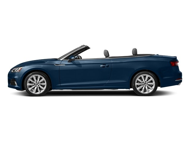 Scuba Blue Metallic/Black Roof 2018 Audi A5 Cabriolet Pictures A5 Cabriolet 2.0 TFSI Premium photos side view