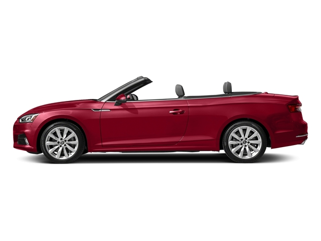 Matador Red Metallic/Black Roof 2018 Audi A5 Cabriolet Pictures A5 Cabriolet 2.0 TFSI Premium photos side view