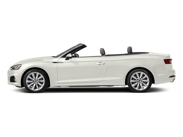 Ibis White/Black Roof 2018 Audi A5 Cabriolet Pictures A5 Cabriolet 2.0 TFSI Premium photos side view