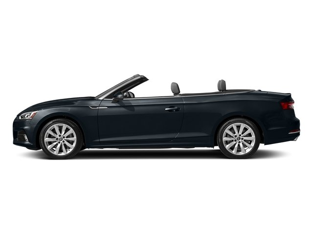 Moonlight Blue Metallic/Black Roof 2018 Audi A5 Cabriolet Pictures A5 Cabriolet 2.0 TFSI Premium photos side view