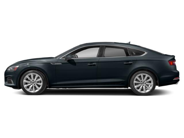 Moonlight Blue Metallic 2018 Audi A5 Sportback Pictures A5 Sportback 2.0 TFSI Prestige photos side view