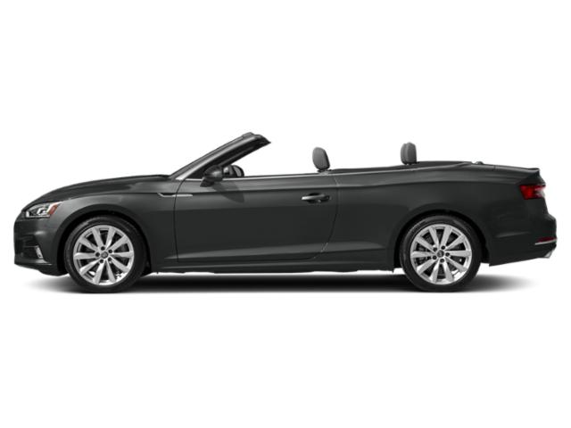 Mythos Black Metallic/Black Roof 2018 Audi A5 Cabriolet Pictures A5 Cabriolet 2.0 TFSI Premium Plus photos side view