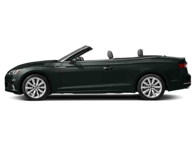 Gotland Green Metallic/Black Roof 2018 Audi A5 Cabriolet Pictures A5 Cabriolet 2.0 TFSI Premium Plus photos side view