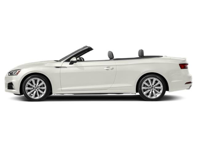 Ibis White/Black Roof 2018 Audi A5 Cabriolet Pictures A5 Cabriolet 2.0 TFSI Premium Plus photos side view