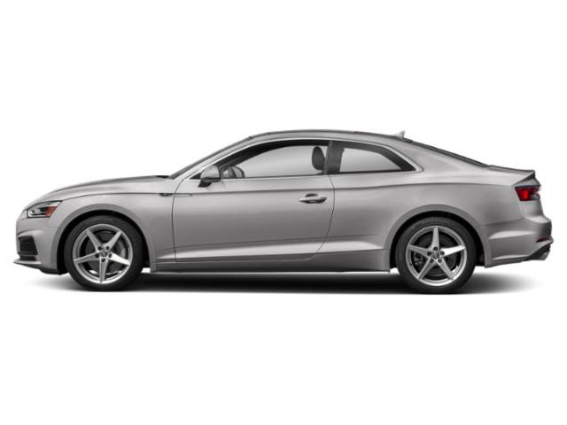 Florett Silver Metallic 2018 Audi A5 Coupe Pictures A5 Coupe 2.0 TFSI Premium Manual photos side view