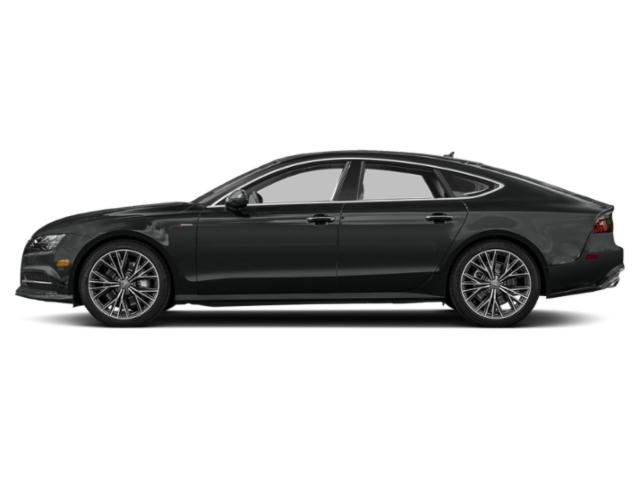 Mythos Black Metallic 2018 Audi A7 Pictures A7 3.0 TFSI Prestige photos side view