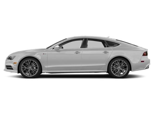 Glacier White Metallic 2018 Audi A7 Pictures A7 3.0 TFSI Prestige photos side view