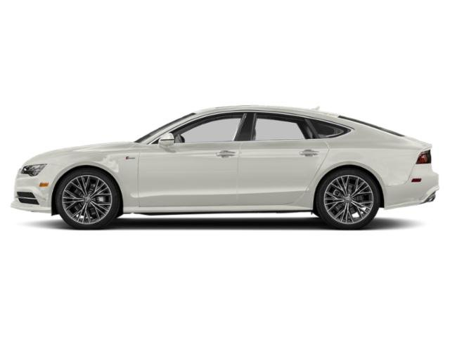 Ibis White 2018 Audi A7 Pictures A7 3.0 TFSI Prestige photos side view
