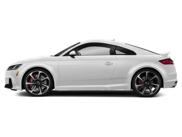 Glacier White Metallic 2018 Audi TT RS Pictures TT RS 2.5 TFSI photos side view
