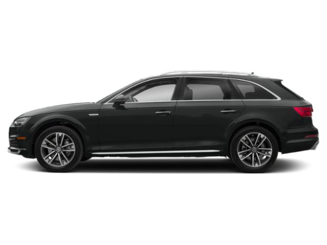 Mythos Black Metallic 2018 Audi A4 allroad Pictures A4 allroad 2.0 TFSI Tech Premium photos side view