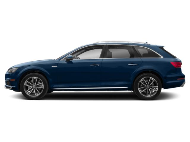 Scuba Blue Metallic 2018 Audi A4 allroad Pictures A4 allroad 2.0 TFSI Tech Premium photos side view