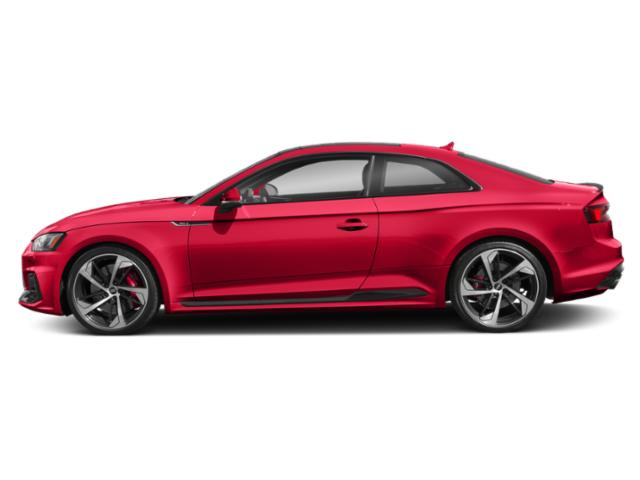 Misano Red Pearl Effect 2018 Audi RS 5 Coupe Pictures RS 5 Coupe 2.9 TFSI quattro tiptronic photos side view