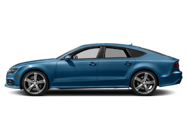 Sepang Blue Pearl Effect 2018 Audi S7 Pictures S7 4.0 TFSI Prestige photos side view
