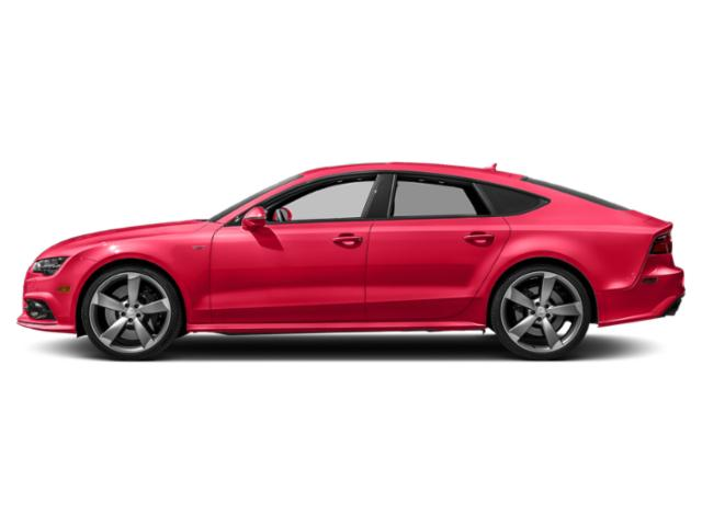 Misano Red Pearl Effect 2018 Audi S7 Pictures S7 4.0 TFSI Prestige photos side view