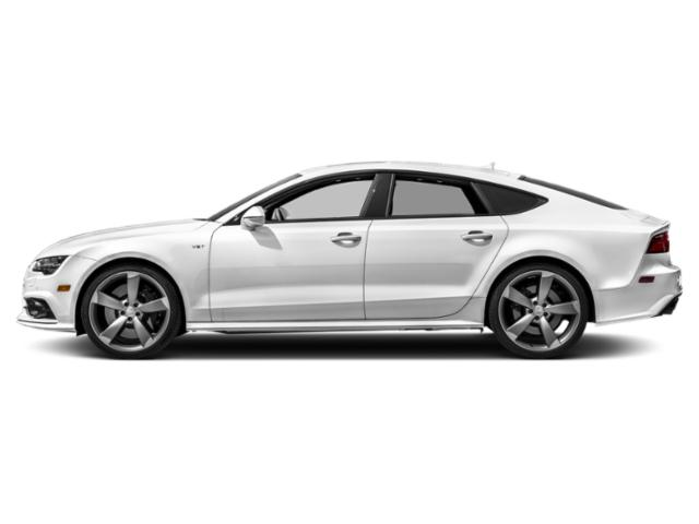 Glacier White Metallic 2018 Audi S7 Pictures S7 4.0 TFSI Prestige photos side view