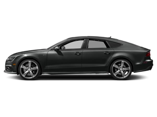 Mythos Black Metallic 2018 Audi S7 Pictures S7 4.0 TFSI Prestige photos side view