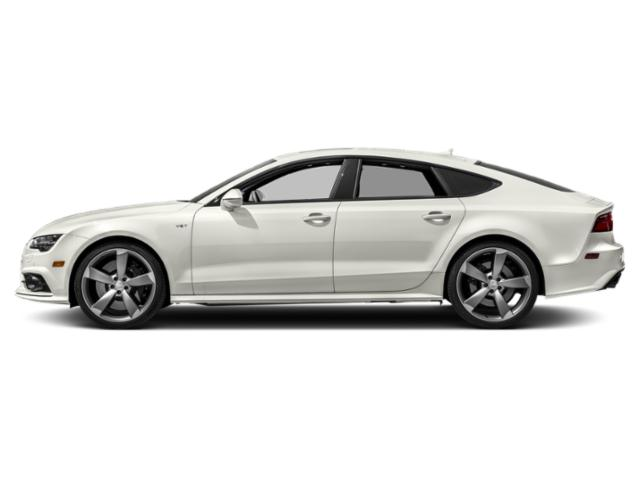 Ibis White 2018 Audi S7 Pictures S7 4.0 TFSI Prestige photos side view