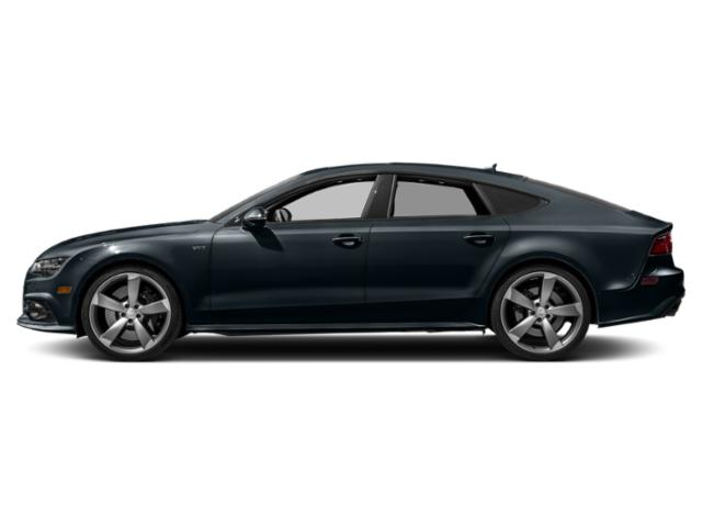 Moonlight Blue Metallic 2018 Audi S7 Pictures S7 4.0 TFSI Prestige photos side view