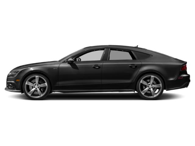 Brilliant Black 2018 Audi S7 Pictures S7 4.0 TFSI Prestige photos side view