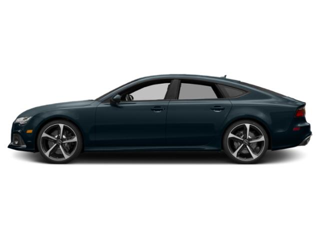Ascari Blue Metallic 2018 Audi RS 7 Pictures RS 7 Sedan 4D RS7 Performance AWD photos side view