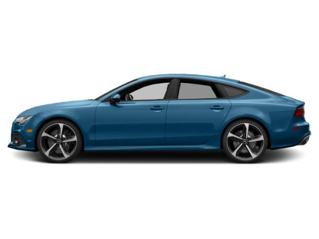 Sepang Blue Pearl Effect 2018 Audi RS 7 Pictures RS 7 Sedan 4D RS7 Performance AWD photos side view