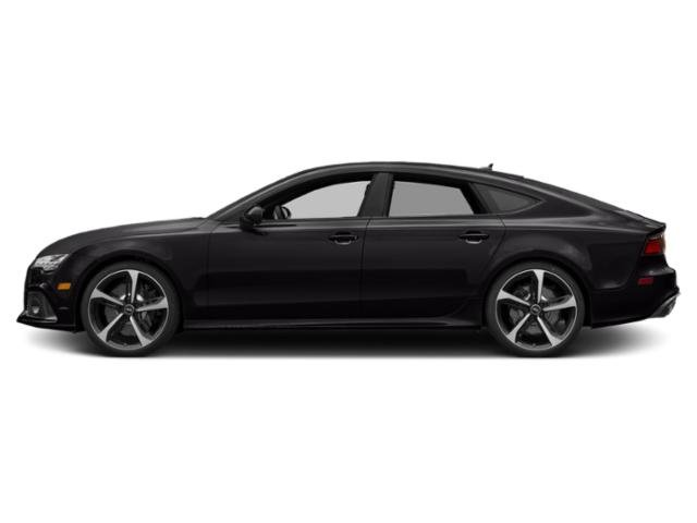 Panther Black Crystal Effect 2018 Audi RS 7 Pictures RS 7 Sedan 4D RS7 Performance AWD photos side view