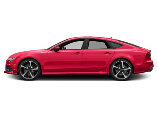 Misano Red Pearl Effect 2018 Audi RS 7 Pictures RS 7 Sedan 4D RS7 Performance AWD photos side view
