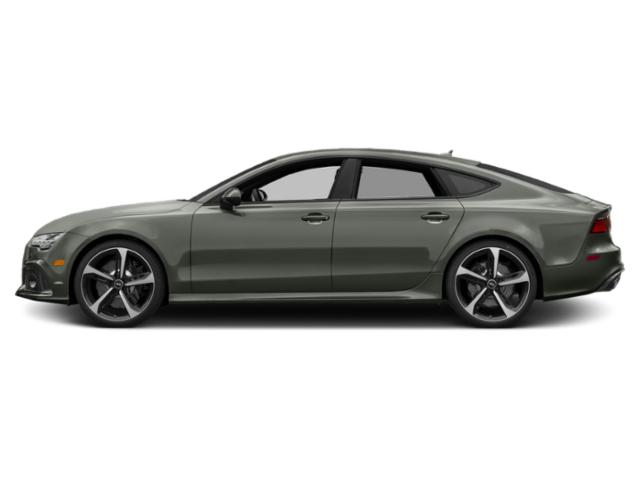 Nardo Gray 2018 Audi RS 7 Pictures RS 7 Sedan 4D RS7 Performance AWD photos side view