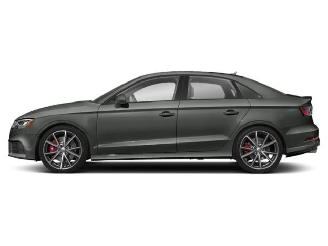 Daytona Gray Pearl Effect 2018 Audi S3 Pictures S3 2.0 TFSI Prestige photos side view