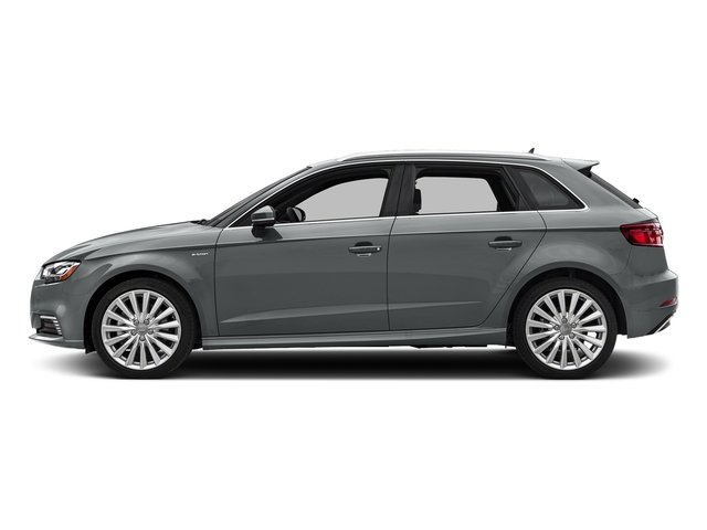 Monsoon Gray Metallic 2018 Audi A3 Sportback e-tron Pictures A3 Sportback e-tron 1.4 TFSI PHEV Premium photos side view
