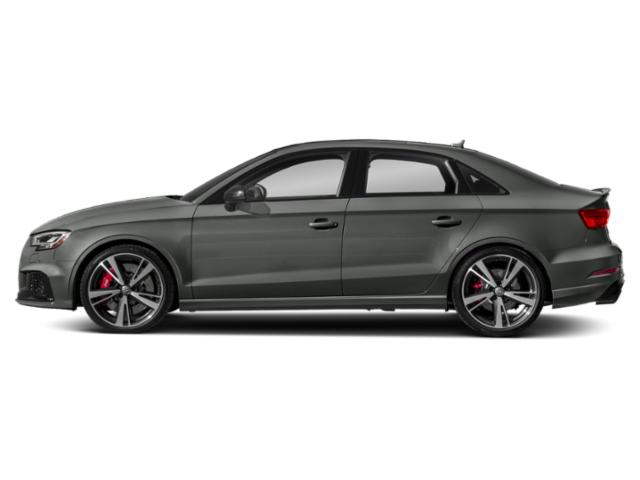 Daytona Gray Pearl Effect 2018 Audi RS 3 Pictures RS 3 2.5 TFSI S Tronic photos side view