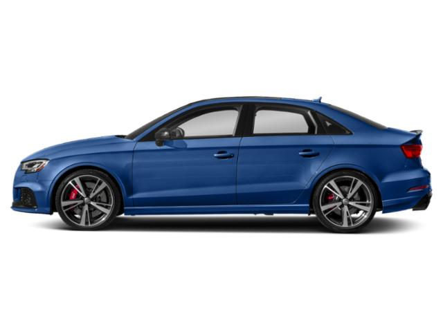 Ara Blue Crystal Effect 2018 Audi RS 3 Pictures RS 3 2.5 TFSI S Tronic photos side view