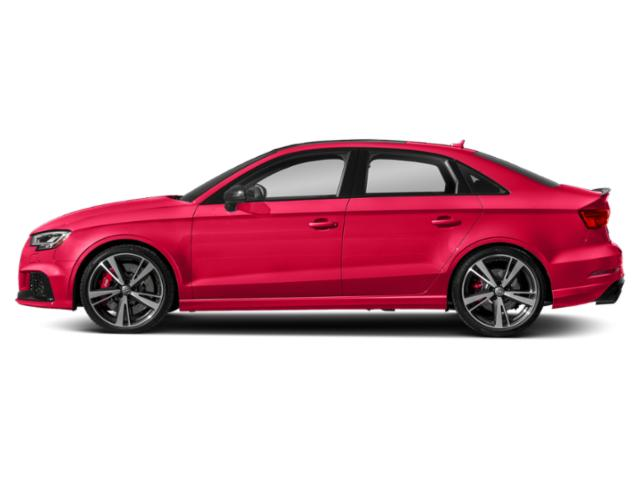 Catalunya Red Metallic 2018 Audi RS 3 Pictures RS 3 2.5 TFSI S Tronic photos side view