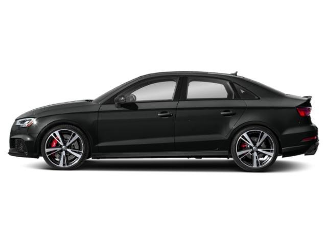 Mythos Black Metallic 2018 Audi RS 3 Pictures RS 3 Sedan 4D RS3 AWD photos side view