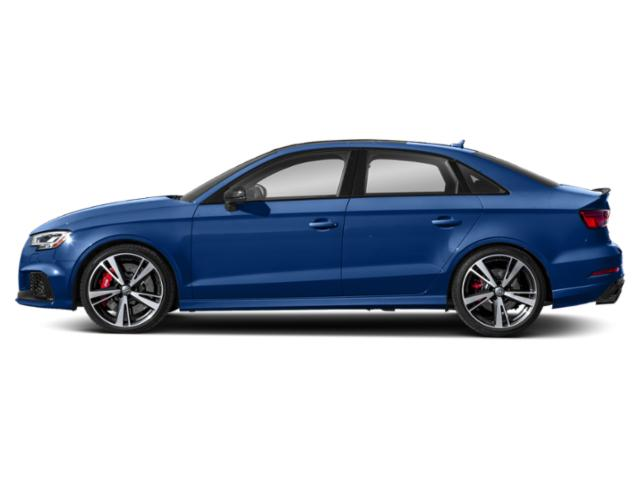 Ara Blue Crystal Effect 2018 Audi RS 3 Pictures RS 3 Sedan 4D RS3 AWD photos side view