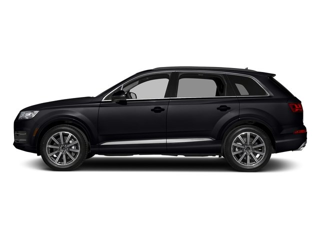 Orca Black Metallic 2018 Audi Q7 Pictures Q7 2.0 TFSI Premium Plus photos side view