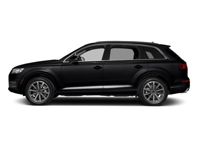 Night Black 2018 Audi Q7 Pictures Q7 2.0 TFSI Premium Plus photos side view