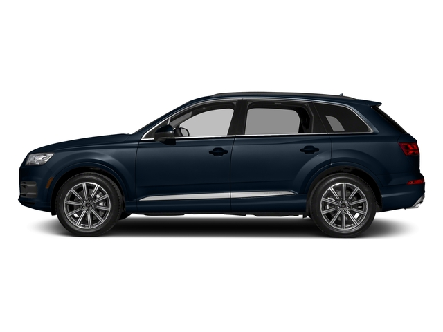 Ink Blue Metallic 2018 Audi Q7 Pictures Q7 3.0 TFSI Prestige photos side view